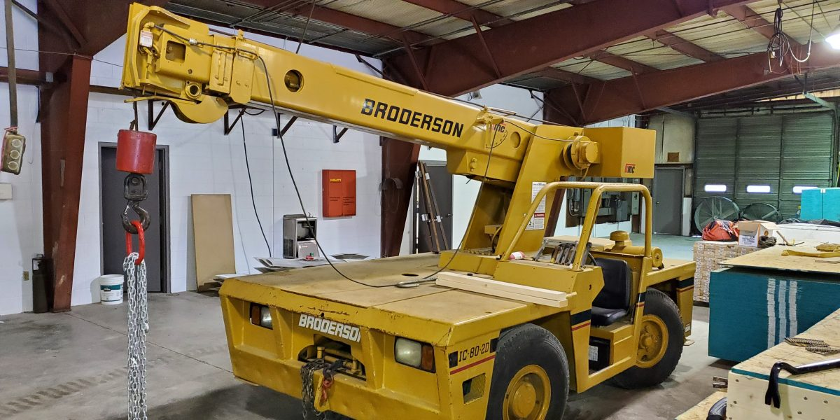 Broderson IC 80-2D Industrial Carry Deck Crane