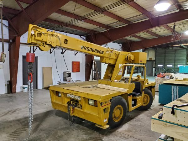Broderson IC 80-2D Industrial Carry Deck Crane