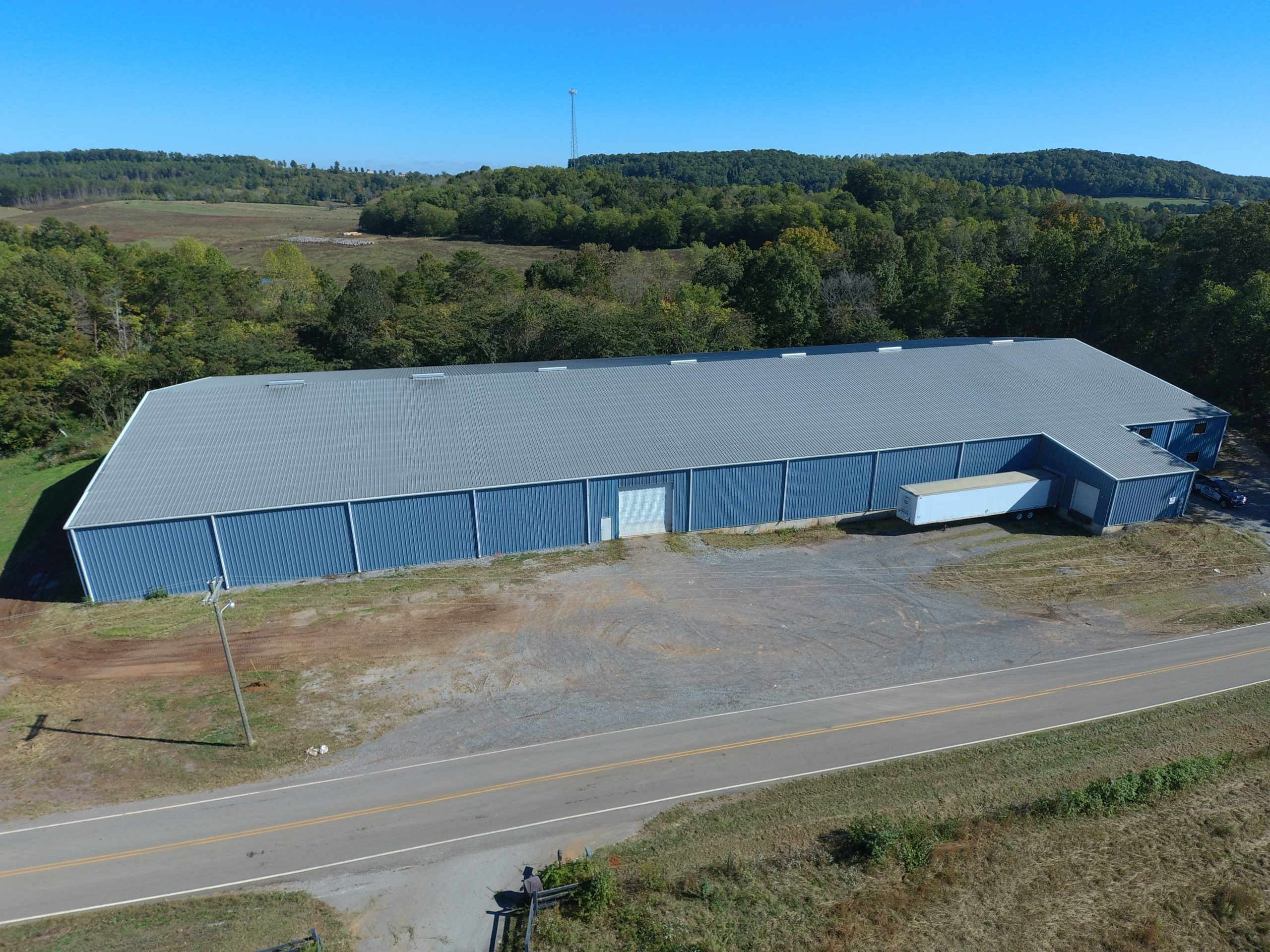 Industrial Property with Manufacturing Building for Sale in Sweetwater, TN